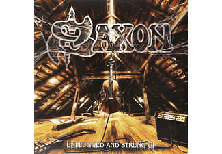 Saxon - Unplugged And Strung Up - (Vinyl)