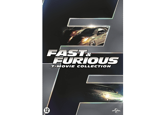 fast furious coffret 1 7 dvd action aventure. Black Bedroom Furniture Sets. Home Design Ideas