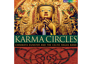 Chinmaya Dunster And The Celtic Ragas Band - Karma Circles [CD]
