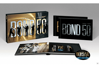 James Bond 50th Anniversary Box Set (22 Films) Blu-ray