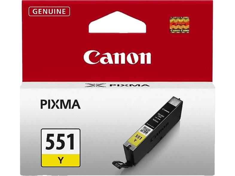 CANON CLI-551 P 7250 Yellow laptop  tablet  computing  εκτύπωση   μελάνια μελάνια  toner computing   tablets