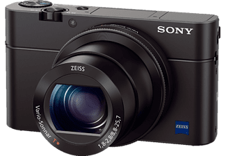 SONY DSC-RX 100 IV Digitalkamera, 20.1 Megapixel, 2.9x opt. Zoom, Full HD, Exmor RS CMOS Sensor, Near Field Communication, WLAN, 24-70 mm Brennweite, Autofokus, Schwarz
