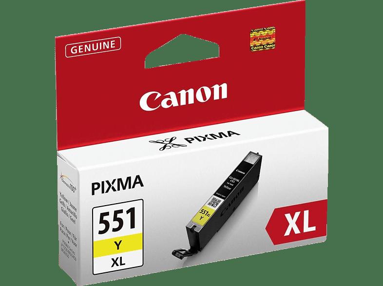 CANON CLI-551XL Yellow - (CAN31279) laptop  tablet  computing  εκτύπωση   μελάνια μελάνια  toner computing   tablets
