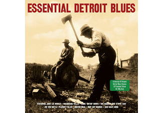 VARIOUS - ESSENTIAL DETROIT BLUES (180G/GATEFOLD) - (Vinyl)