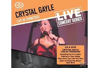 Crystal Gayle - LIVE IN TENNESSEE - (CD + DVD Video)