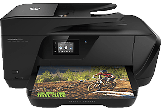 HP Officejet 7510, 4-in-1 Tintenstrahl-Multifunktionsdrucker, Schwarz