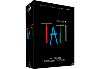 Jacques Tati - The Ultimate Complete Collection Box Drama Blu-ray