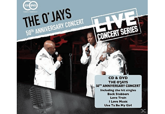 The O'Jays - 50TH ANNIVERSARY CONCERT - (CD + DVD Video)