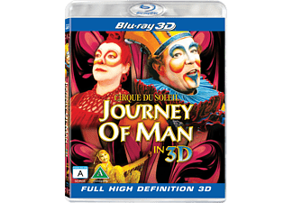 Cirque Du Soleil: Journey Of Man Familj Blu-ray 3D