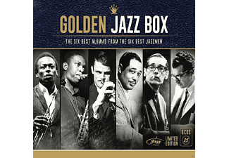 VARIOUS - Golden Jazz Box (Jazzmen) [CD]
