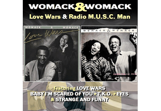 Womack & Womack - Love Wars/Radio M.U.S.C.Man - (CD)