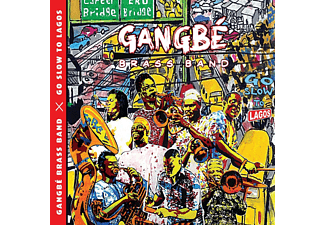 Gangbé Brass Band - Go Slow To Lagos - (CD)