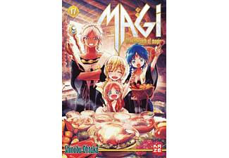017 - Magi - The Labyrinth of Magic, Kinder/Jugend (Taschenbuch)