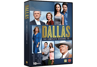 Dallas Säsong 1-3 Drama DVD