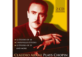 Claudio Arrau - Plays Chopin - (CD)