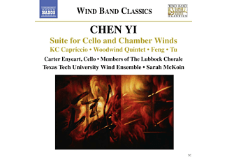 Texas Tech Wind Ens - Chen Yi: Suite For Cello And Chamber Winds - (CD)