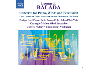 VARIOUS - Leonardo Balada: Concerto For Piano, Winds And Percussion - (CD)