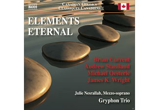 Julie Nesrallah, The Gryphon Trio - ELEMENTS ETERNAL [CD]