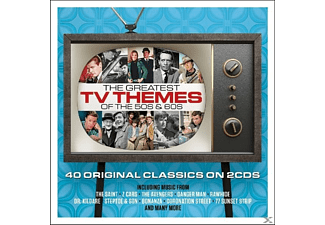 VARIOUS - Greatest Tv Themes Of The 50's And 60's [CD]