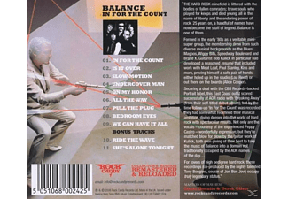 Balance - In For The Count (Lim.Collector's Edit.) - (CD)