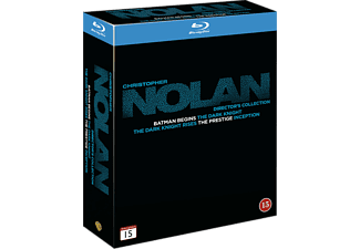 Christopher Nolan Collection (5 filmer) Thriller Blu-ray