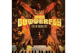 Iron Butterfly - Live In Sweden 1971 - (Vinyl)