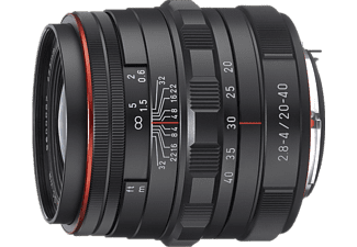 PENTAX HD DA 20-40MM F2.8-4 ED LIMITED DC - Svart