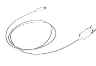 SBS MOBILE Data cable USB - Apple Lightning 1,2 M - Vit