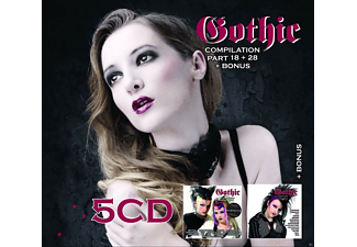 VARIOUS - Gothic Compilation Vol. 18 + 28 - (CD)