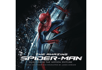 James Horner - The Amazing Spider-Man (A Csodálatos Pókember) (CD)