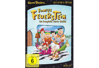 FAMILIE FEUERSTEIN 4.STAFFEL (COLLECTORS EDIT.) - (DVD)