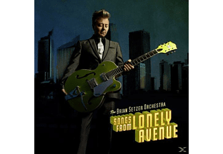 Brian Orchestra Setzer - Songs From Lonely Avenue - (LP + Bonus-CD)