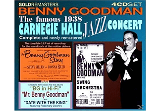 Benny Goodman - The Famous 1938 Carnegie Hall Jazz Concert - (CD)