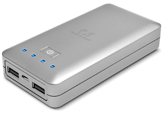 FRESH 'N REBEL Powerbank 10400 mAh silver