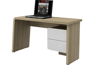 jahnke cu culture c 130 laptop schreibtisch wei sanremo eiche hell. Black Bedroom Furniture Sets. Home Design Ideas
