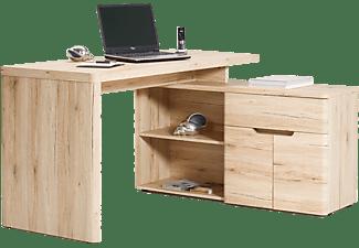 jahnke cu libre 150 eck schreibtisch sanremo eiche hell. Black Bedroom Furniture Sets. Home Design Ideas