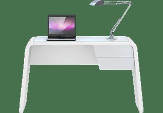 jahnke csl 430 computer schreibtisch wei glas matt wei. Black Bedroom Furniture Sets. Home Design Ideas