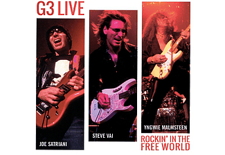 G3 - G3 Live - Rockin' in the Free World (CD)