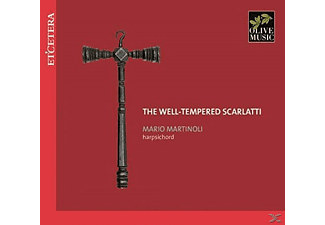 Mario Martolini - The Well-Tempered Scarlatti - (CD)