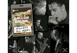 Gallon Drunk - Access All Areas [CD + DVD Video]