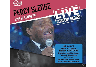 Percy Sledge - Live In Kentucky - (CD + DVD Video)