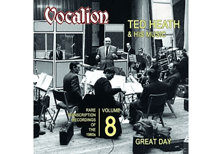 Ted & His Orchestra Heath - Great Day-Transcription Recordings [CD]