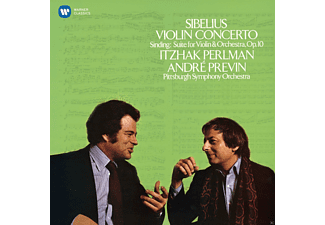 Itzhak Perlman / Andre Previn / Piso / Pittsburgh Symphony Orchestra - Violin Concerto (Sinding: Suite For Violin & Orchestra, Op.10) [CD]
