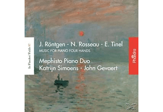 Mephisto Piano Duo, Katrijn Simoens, John Gevaert - Music For Piano Four Hands [CD]
