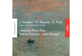 Mephisto Piano Duo, Katrijn Simoens, John Gevaert - Music For Piano Four Hands - (CD)