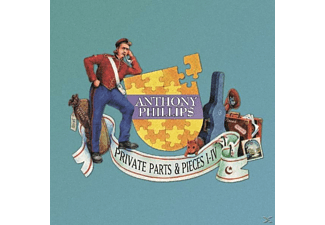 Anthony Phillips - Private Parts & Pieces I-Iv [CD]