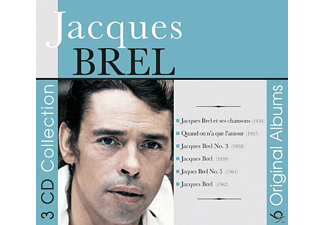 Jacques Brel - 6 Original Albums [CD]