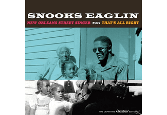 Snooks Eaglin - New Orleans Street Singer+That's All Right [CD]