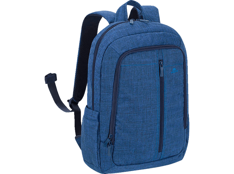 "RIVACASE 7560 Laptop Canvas Backpack 15.6"" Blue laptop  tablet  computing  laptop τσάντες  θήκες"