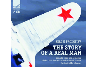 Soloists, Choir And Orchestra Of The Ussr State Academic Bolshoi Theatre - The Story Of A Real Man - (CD)